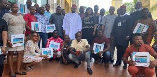 The recipients of the engagement letters and monitoring devices in Ebonyi State