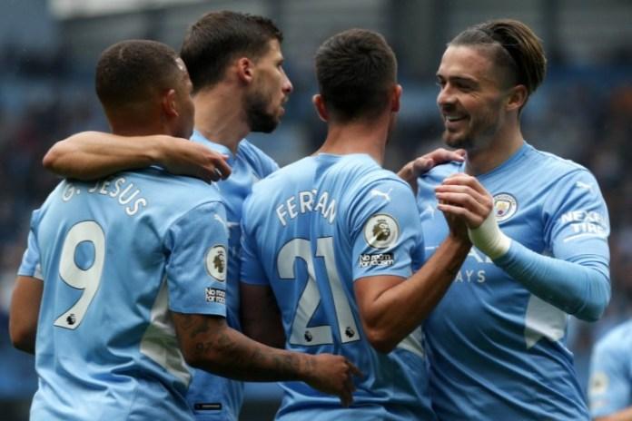 Manchester City beat Arsenal 5-0
