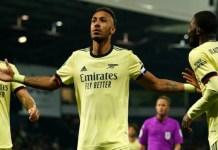 Auba nets hattrick as Arsenal thrash West-Brom