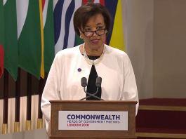 Rt Hon Patricia Scotland, Secretary-General of the Commonwealth