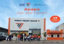 Titan Trust Bank Limited (TTB Apapa Branch