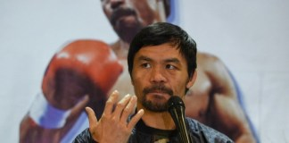 Manny Pacquiao to run for president in 2022