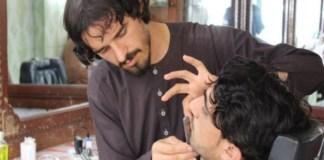 Taliban bans barbers
