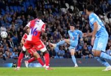 Man City beat Wycombe 6-1