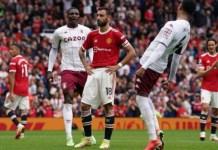 Bruno Fernandes missed a penalty for Man Utd, handing Aston Villa all three points at Old Trafford