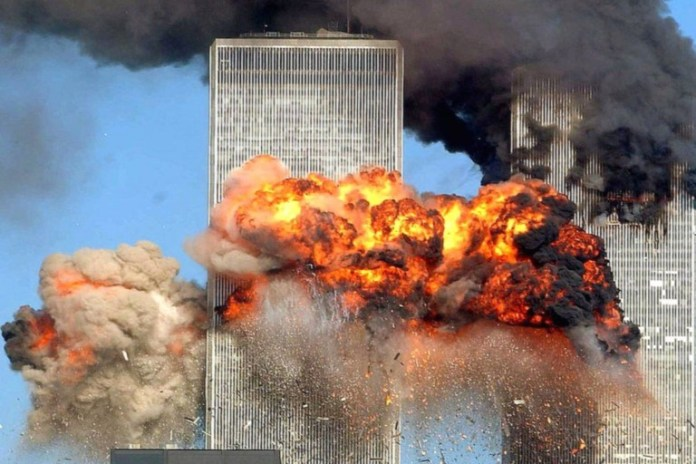 9/11 attack on New York's World Trade Center