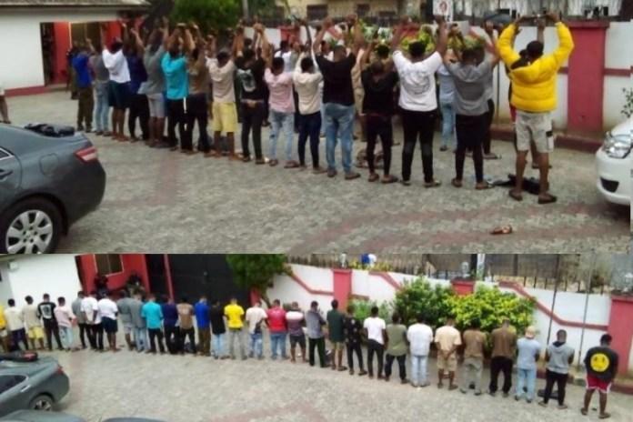 EFCC arrested 33 internet fraudsters in Calabar