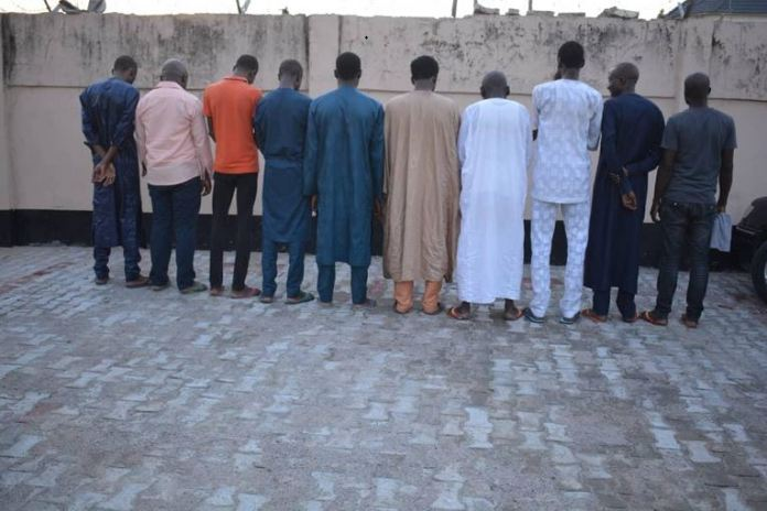 EFCC arrests 10 persons for forex scam in Kano