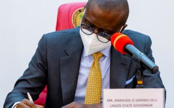 Governor Babajide Sanwo-Olu has signed the VAT Bill into law