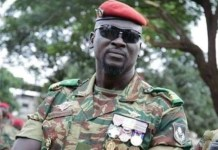 Mastermind of Guinea coup, Lieutenant-Colonel Mamady Doumbouya