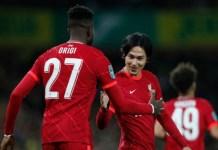 Minamino and Origi scored as Liverpool progress