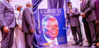 Vice President Yemi Osinbajo SAN attends as the special guest of honour and chairman of the Book Launch of Pastor Dr. W.F. Kumuyi; Defender of the Faith at the Eko Hotels and Suites in Lagos, Nigeria