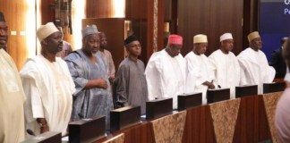 Northern governors and traditional rulers met in Kaduna NLTP