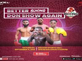 GOtv Boxing Night 23 to Broadcast Live on DStv, GOtv