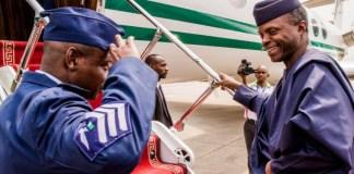 Osinbajo leaves Nigeria for ECOWAS summit on Guinea coup