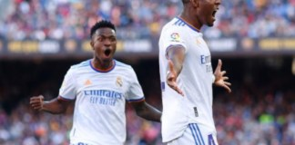 David Alaba scored his first goal for Real Madrid