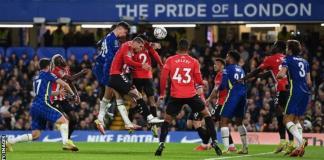 Kai Havertz had put Chelsea ahead before half time