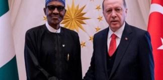 President Muhammadu Buhari and Turkish President Recep Erdogan