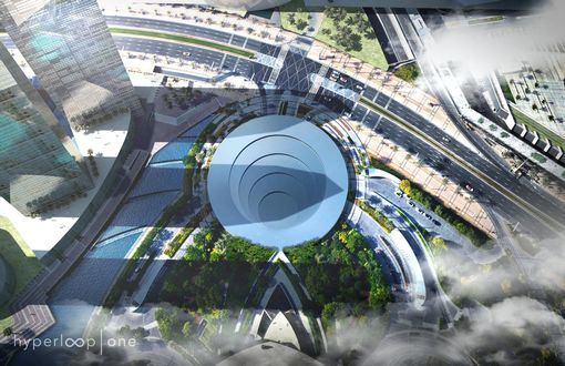 How a Hyperloop station could look  Business Breakfast RECAP: MPs demand financial watchdog publish leaked RBS report CFR NJL 121017hyperloop 03