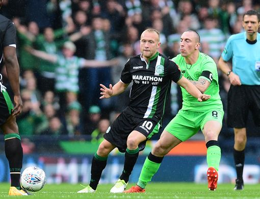Dylan McGeouch and Scott Brown