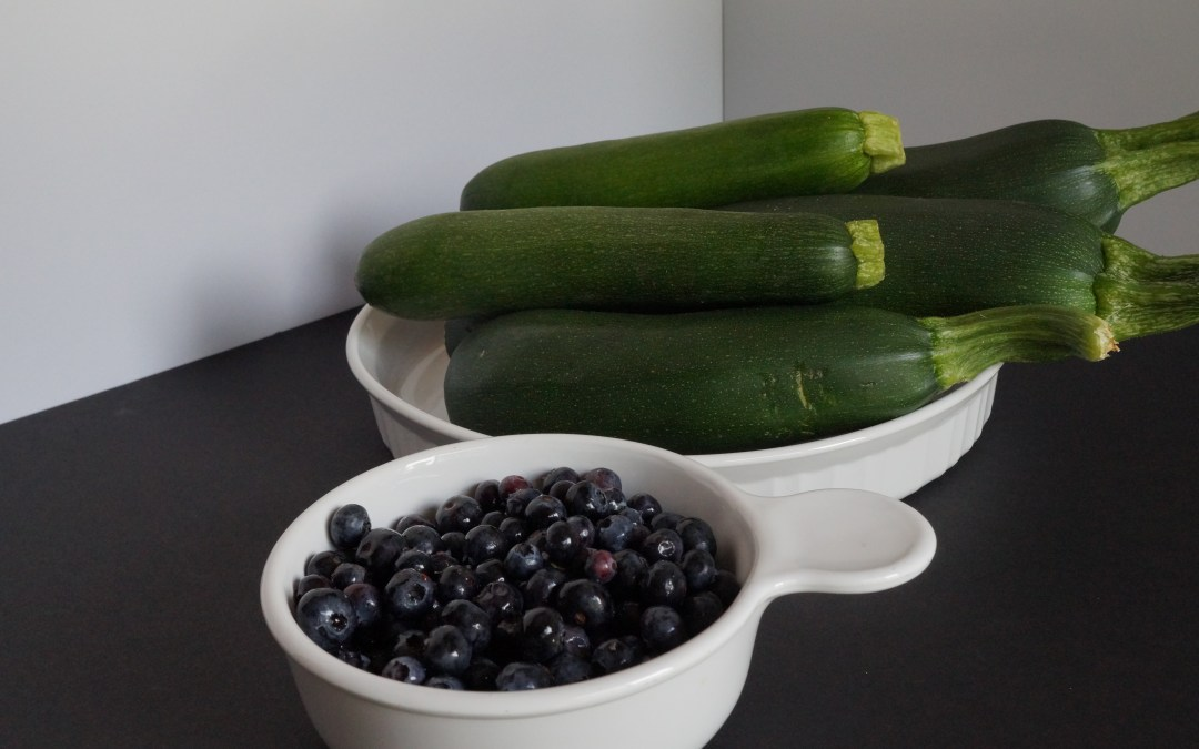 Blueberry and Zucchini Together??
