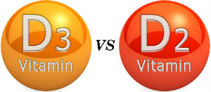 D3 versus D2