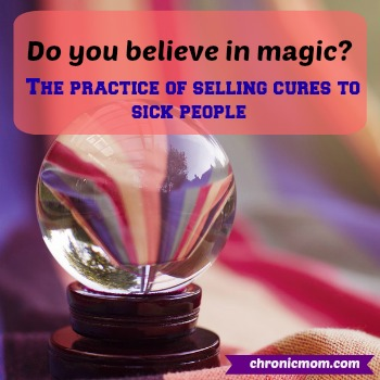 do you believe in magic? the practice of selling cures to sick people