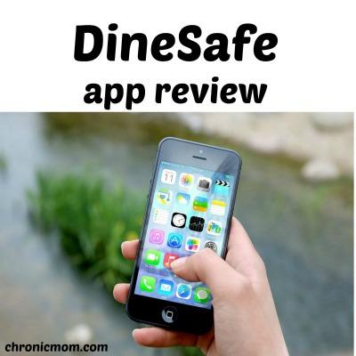 DineSafe app review