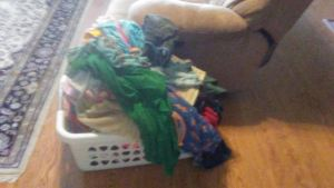 my clean clothes