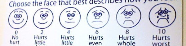 10 faces of feelings