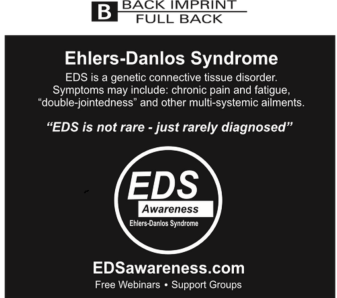 Back of Shirt 2015 EDS Awareness