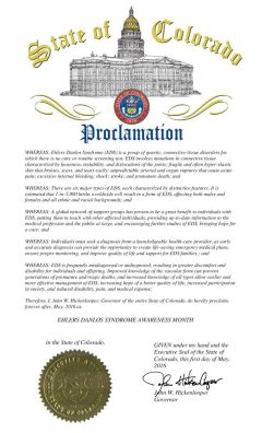 Colorado Proclamation 2016