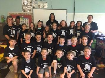 Madison's 3rd grade classmates