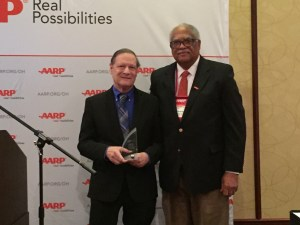 John Ferman and Ohio AARP President Judge Randolph Baxter