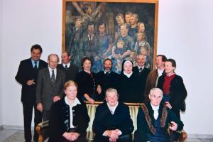 Bauernfamilie im Landhaus mit Wendelin Weingartner