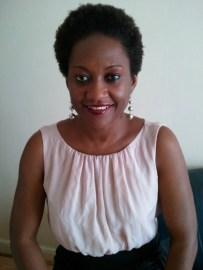 Angèle Mbarga, President of Assosication Fibrome Info France