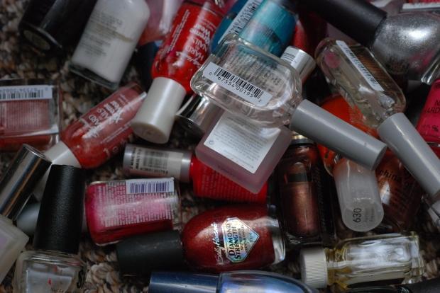 nail polishes - no credit required