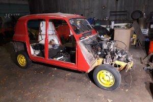 Restauration Renault 4L #2 : Démonter sans fatiguer, démonter pour mieux avancer!
