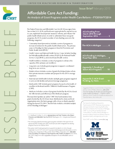 Pages from 2014 ACA Funding Brief, February 2, 2015, FINAL PDF_COVERPG
