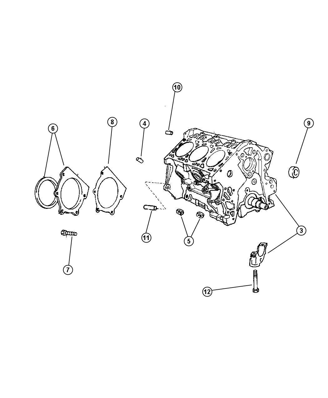 Chrysler Town Amp Country Plug Core 1 625 Diameter