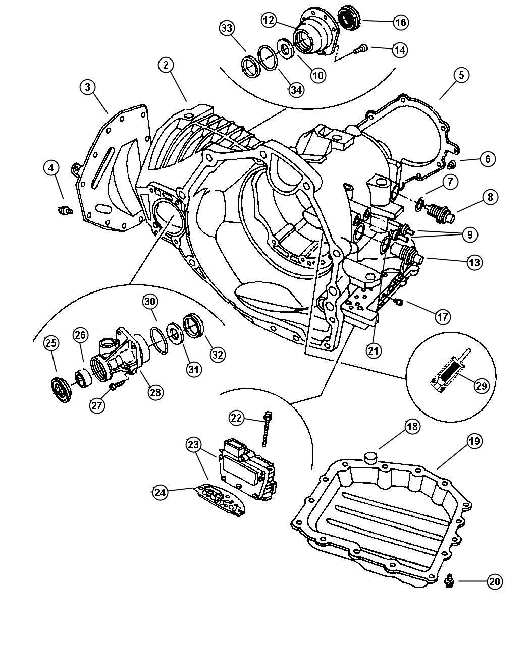 Chrysler Town Amp Country Solenoid Module Solenoid Package