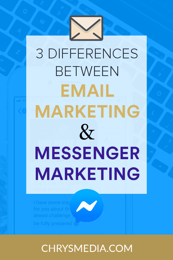 3 Differences Bewteen Email Marketing And Messenger Marketing Chatbots