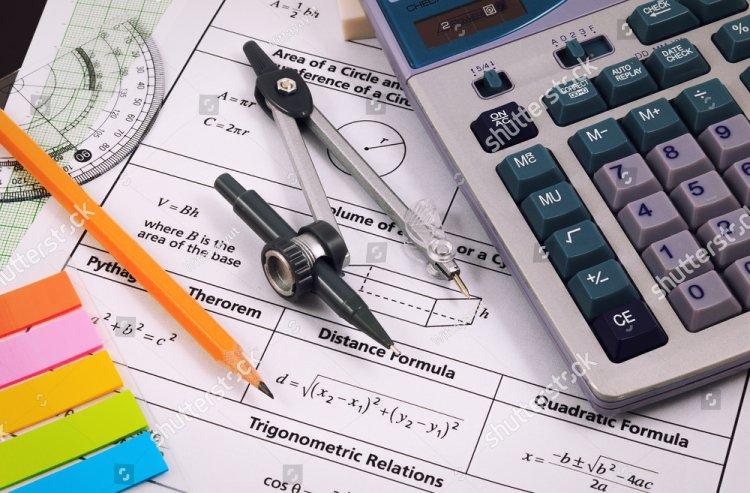 stock photo mathematics equations close up homework solving mathematical problem 386219671