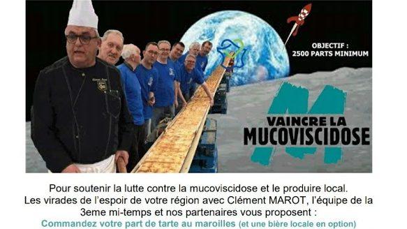 «A CHACUN SA PART» pour VAINCRE la MUCOVISCIDOSE : 26 et 27 septembre 2020