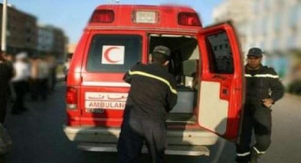 إصابة رجلي شرطة في حادثة سير