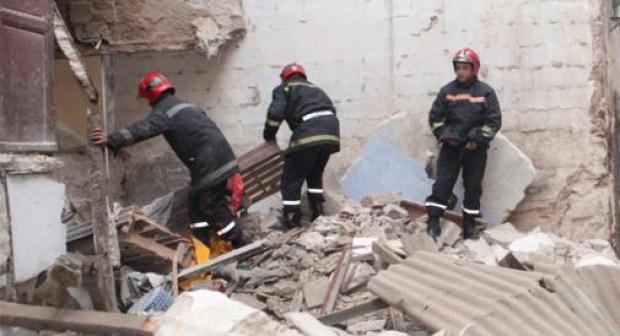 في أقل من 24 ساعة… انهيار منزل ثالث بالمدينة القديمة للبيضاء