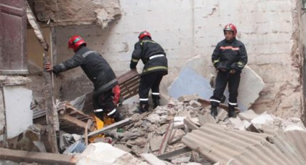 انهيار سقف منزل ممثل مغربي مشهور