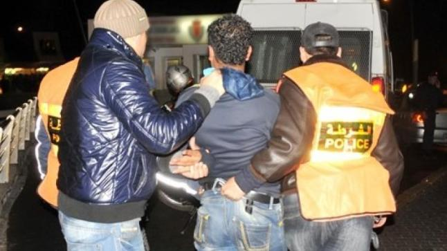 السرقة باستعمال العنف من داخل محل تجاري تقود شخصين للإعتقال