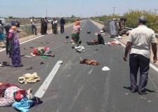 """مقتل سيدة وإصابة 12 آخرين في حادث إنقلاب """"بيكوب"""""""