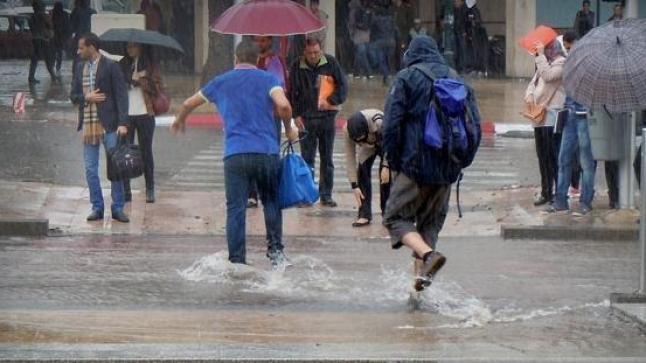 تساقطات مطرية تهم عدداً من أقاليم المملكة